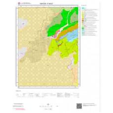 H46b3 Paftası 1/25.000 Ölçekli Vektör Jeoloji Haritası