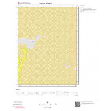 H 46-c1 Paftası 1/25.000 ölçekli Jeoloji Haritası