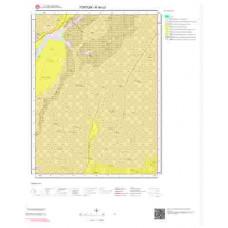 H 46-c3 Paftası 1/25.000 ölçekli Jeoloji Haritası