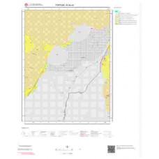 H 46-c4 Paftası 1/25.000 ölçekli Jeoloji Haritası