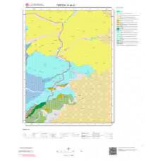 H 46-d1 Paftası 1/25.000 ölçekli Jeoloji Haritası