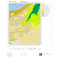 H47a3 Paftası 1/25.000 Ölçekli Vektör Jeoloji Haritası