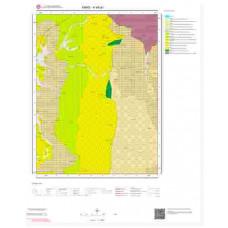 H48a1 Paftası 1/25.000 Ölçekli Vektör Jeoloji Haritası