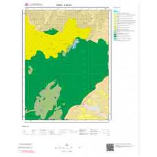 H48a3 Paftası 1/25.000 Ölçekli Vektör Jeoloji Haritası