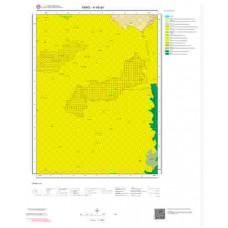 H 48-a4 Paftası 1/25.000 ölçekli Jeoloji Haritası