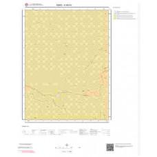 H48b3 Paftası 1/25.000 Ölçekli Vektör Jeoloji Haritası