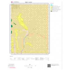 H 48-b4 Paftası 1/25.000 ölçekli Jeoloji Haritası