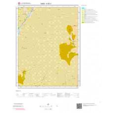 H48c1 Paftası 1/25.000 Ölçekli Vektör Jeoloji Haritası