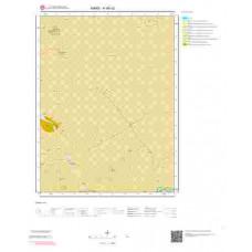 H48c2 Paftası 1/25.000 Ölçekli Vektör Jeoloji Haritası