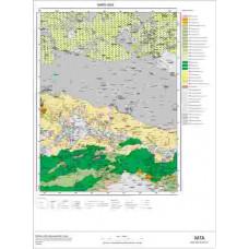 H 50 Paftası 1/100.000 ölçekli Jeoloji Haritası
