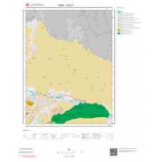 H 50-c1 Paftası 1/25.000 ölçekli Jeoloji Haritası