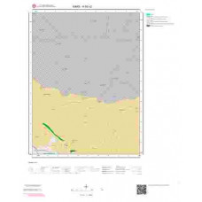 H 50-c2 Paftası 1/25.000 ölçekli Jeoloji Haritası