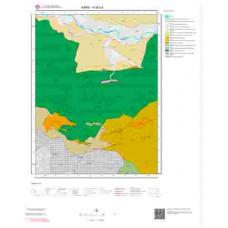 H 50-c3 Paftası 1/25.000 ölçekli Jeoloji Haritası