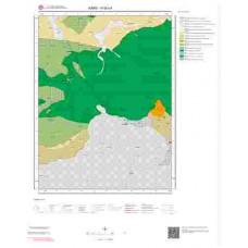 H 50-c4 Paftası 1/25.000 ölçekli Jeoloji Haritası
