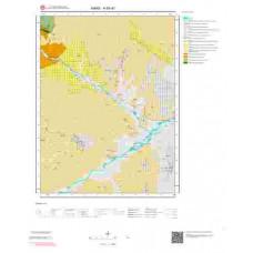 H 50-d1 Paftası 1/25.000 ölçekli Jeoloji Haritası