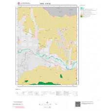 H 50-d2 Paftası 1/25.000 ölçekli Jeoloji Haritası