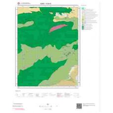 H 50-d3 Paftası 1/25.000 ölçekli Jeoloji Haritası