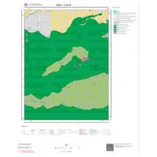 H 50-d4 Paftası 1/25.000 ölçekli Jeoloji Haritası