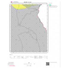 H51a4 Paftası 1/25.000 Ölçekli Vektör Jeoloji Haritası