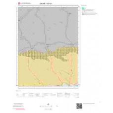 H51d1 Paftası 1/25.000 Ölçekli Vektör Jeoloji Haritası