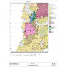I16 Paftası 1/100.000 Ölçekli Vektör Jeoloji Haritası