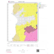 I16a3 Paftası 1/25.000 Ölçekli Vektör Jeoloji Haritası