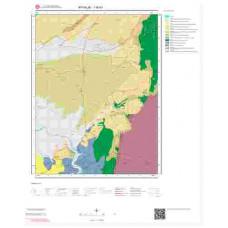 I16b1 Paftası 1/25.000 Ölçekli Vektör Jeoloji Haritası