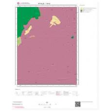 I16b2 Paftası 1/25.000 Ölçekli Vektör Jeoloji Haritası