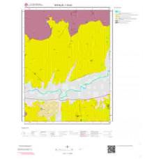 I16b3 Paftası 1/25.000 Ölçekli Vektör Jeoloji Haritası