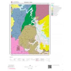 I16b4 Paftası 1/25.000 Ölçekli Vektör Jeoloji Haritası