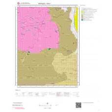 I16c1 Paftası 1/25.000 Ölçekli Vektör Jeoloji Haritası