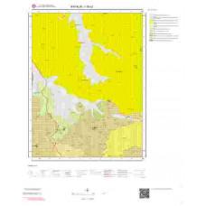 I16c2 Paftası 1/25.000 Ölçekli Vektör Jeoloji Haritası
