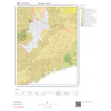 I16c3 Paftası 1/25.000 Ölçekli Vektör Jeoloji Haritası