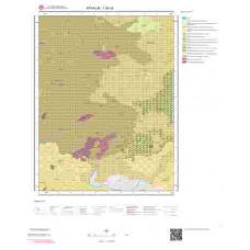 I16c4 Paftası 1/25.000 Ölçekli Vektör Jeoloji Haritası