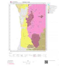 I16d2 Paftası 1/25.000 Ölçekli Vektör Jeoloji Haritası