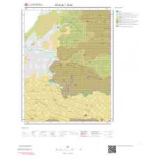 I16d3 Paftası 1/25.000 Ölçekli Vektör Jeoloji Haritası