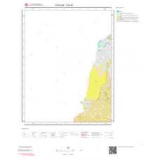 I16d4 Paftası 1/25.000 Ölçekli Vektör Jeoloji Haritası