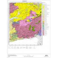 I17 Paftası 1/100.000 Ölçekli Vektör Jeoloji Haritası