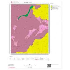I17a1 Paftası 1/25.000 Ölçekli Vektör Jeoloji Haritası