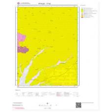 I17a2 Paftası 1/25.000 Ölçekli Vektör Jeoloji Haritası