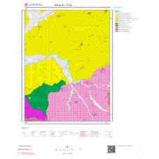 I17a3 Paftası 1/25.000 Ölçekli Vektör Jeoloji Haritası