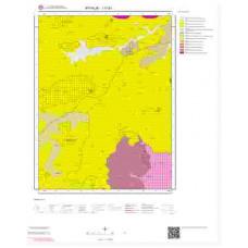 I17b1 Paftası 1/25.000 Ölçekli Vektör Jeoloji Haritası