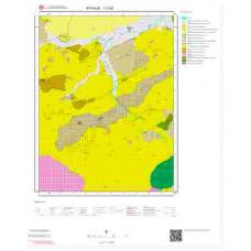 I17b2 Paftası 1/25.000 Ölçekli Vektör Jeoloji Haritası