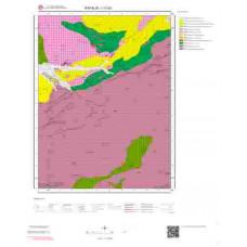 I17b3 Paftası 1/25.000 Ölçekli Vektör Jeoloji Haritası