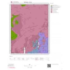 I17c2 Paftası 1/25.000 Ölçekli Vektör Jeoloji Haritası