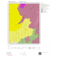 I17d1 Paftası 1/25.000 Ölçekli Vektör Jeoloji Haritası