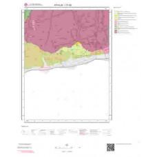 I17d3 Paftası 1/25.000 Ölçekli Vektör Jeoloji Haritası