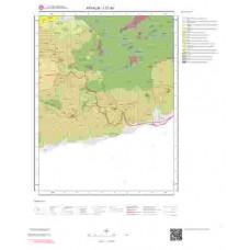I17d4 Paftası 1/25.000 Ölçekli Vektör Jeoloji Haritası
