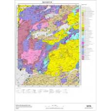 I18 Paftası 1/100.000 Ölçekli Vektör Jeoloji Haritası
