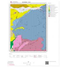 I18a1 Paftası 1/25.000 Ölçekli Vektör Jeoloji Haritası